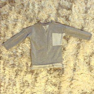 Little James Grey Distressed Toddler Shirt